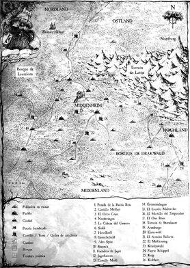Mapa de Drakwald
