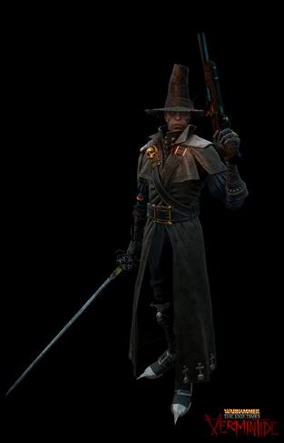 Victor Saltzpyre Cazador de Brujas Vermintide