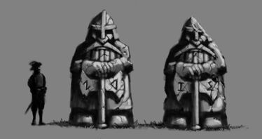 Warhammer Online Monolitos Enanos por Toby Hynes Redbranch