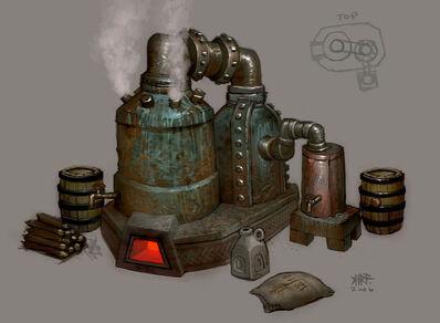 Alambique Enanos Warhammer Online por Jonathan Kirtz