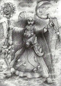 Hechicero Jade Imperio por Wayne England