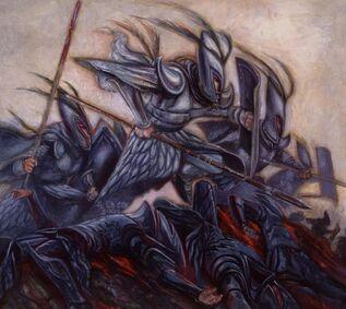Lanceros Altos Elfos por H. Ed Cox