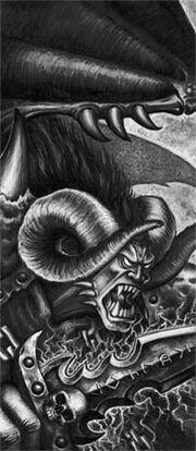 Principe demonio rostro