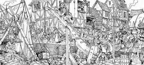 Guilderveld por Russ Nicholson Marienburgo