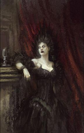 Retrato Vampiro por Daarken