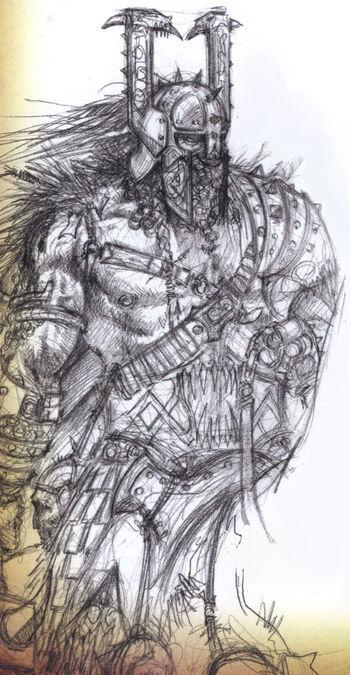 Caudillo Bárbaro Hung por Adrian Smith