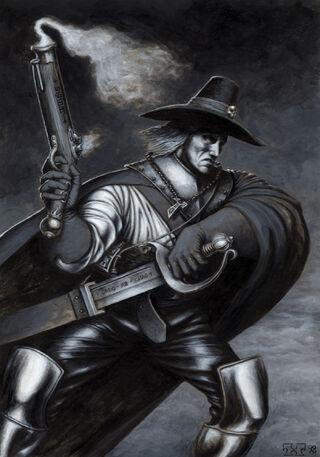 Cazador de Brujas por Toby hynes