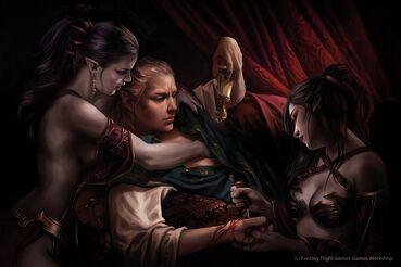 Culto al Placer por Magali Villeneuve Altos Elfos Oscuro