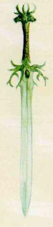 Espada elfos silvanos