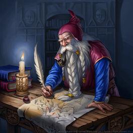Maestro de mapas por Anna Ignatieva Enanos