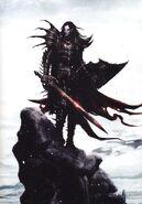 Portada Cronicas Malus Darkblade Volumen 1 por Clint Langley