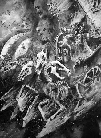 Arkhan el Negro por John Blanche