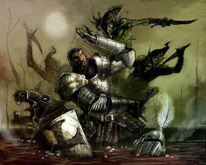 John gravato Caballero Imperio Goblins