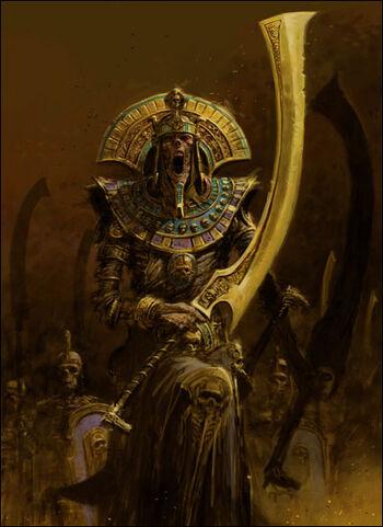 Rey funerario