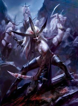 Elfas Brujas imagen Elfos Oscuros 8ª
