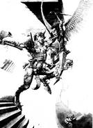 Lucha demoniaca por Adrian Smith