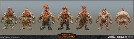 Matadores enanos warhammer total war por Michal Gutowski