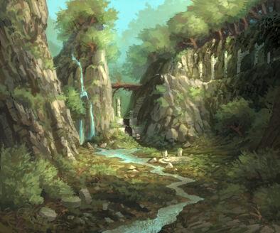 Valle de Gaen principio por Jonathan Kirtz Warhammer Online Altos Elfos