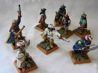 Corsarios arabia miniatura