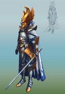 Comandante Alto Elfo Warhammer Online por Michael Phillippi