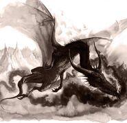 Dragón Negro por Dave Gallagher