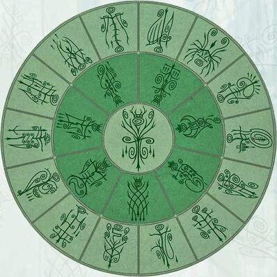 Mandala Elfos Silvanos