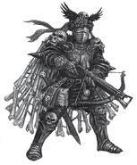 Guardia Negra de Morr por Pat Loboyko