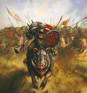 Jefe Orco Jinete de Jabalí por Alex Boyd
