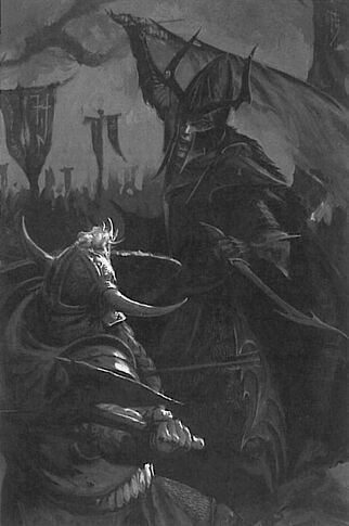 Elfos Oscuros contra Enanos