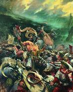 Hombres Bestias Portada 7ª Edición por Paul Dainton