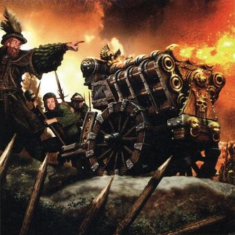Portada Iron Company por Clint Langley Cañón de Salvas Fandelhoch