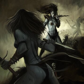 Esposas Carmesíes por Dan Wheaton Brujas Elfas