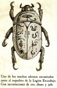Adorno Rey Escarabajo