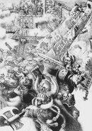 Imperio y aliados Enanos por John Blanche