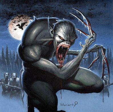 Vampiro Strigoi por John Moriarty artwork