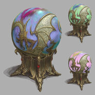 Artefactos Ojo de Dragón Altos Elfos Warhammer Online por Michael Phillippi