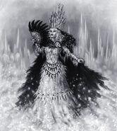 Bruja de hielo por Pat Loboyko