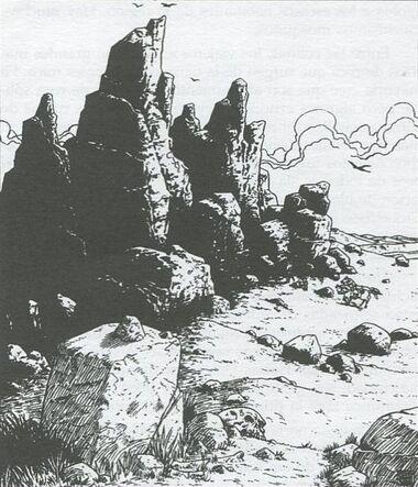 Colinas Quebradas por Ralph Horsley Sendero
