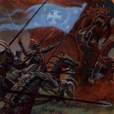 ¡Cargad! por Adrian Smith Caballería Imperio Dragón del Caos