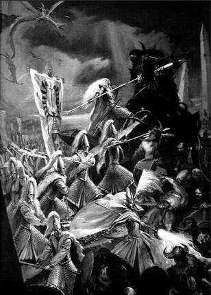 Altos Elfos contra Guerreros del Caos vs