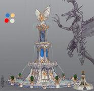 Fuente Altos Elfos Warhammer Online por Michael Phillippi