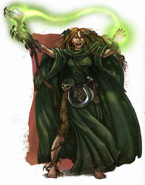 Hechicero Jade por Caleb Cleveland