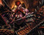 Matador Matadragones por Michael Phillippi