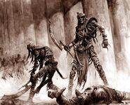 Guardia del Sepulcro por Karl Kopinski Reyes Funerarios