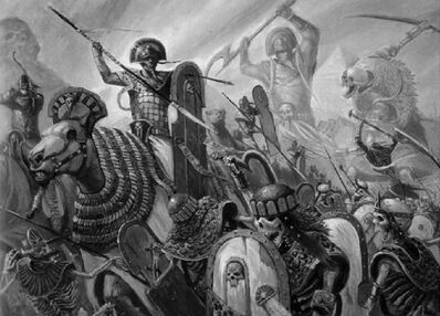 Reyes Funerarios -Guerra contra el Nigromante Nehekhara