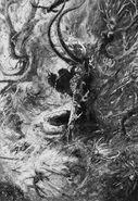 Biennacido - Noble Elfo Silvano por John Blanche