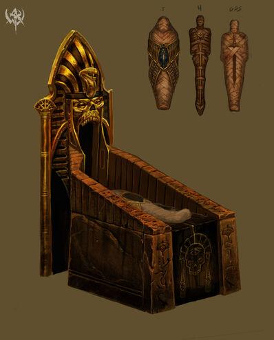 Momificación Reyes Funerarios por Matthew Starbuck