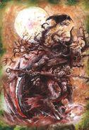 Pestigor Hombre Bestia John Blanche