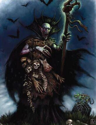 Vampiro Necrarca por Pat Loboyko