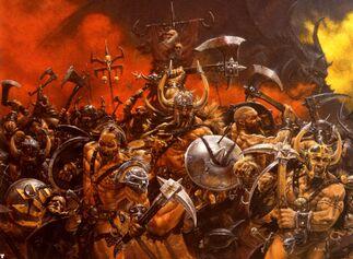 Bárbaros del Caos por Adrian Smith